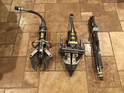 Hurst JAWS OF LIFE Hydraulic SPREADER CUTTER RAM - No ship (Must pick up in CA)