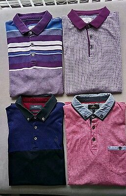 Mens NEXT polo shirts bundle size L