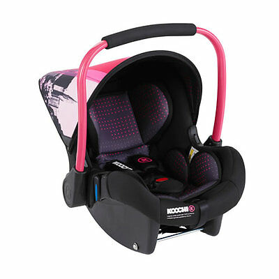New Koochi upstart group 0+ car seat brooklyn pm with raincover from 0 to 13kg