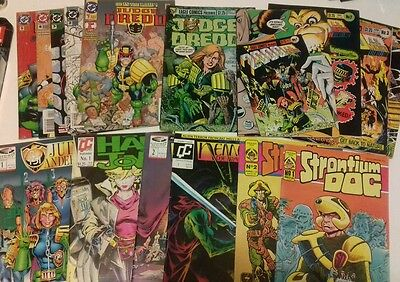 2000ad US reprints (HALO JONES, NEMESIS, DREDD etc) Fleetway/Quality/DC Comics)