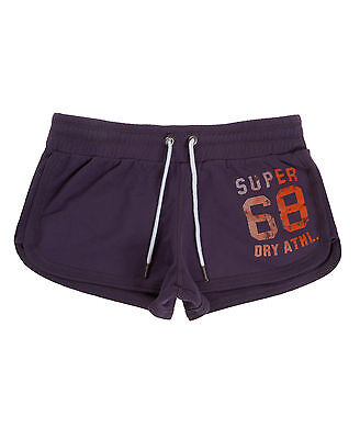 New Womens Superdry Factory Second Charge Shorts Soot