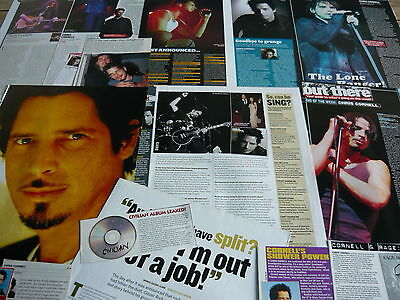 Chris Cornell (Audioslave) - Magazine Cuttings Collection (Ref T6)
