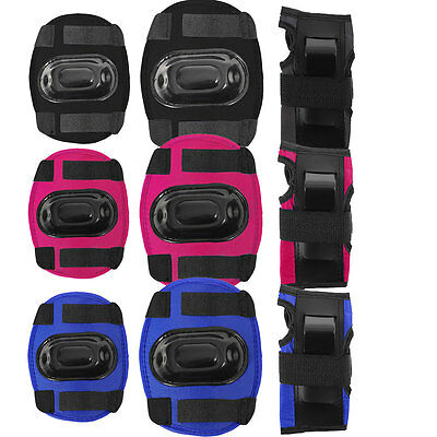 Kids protection set WRIST ELBOW KNEE pads for skates cycling
