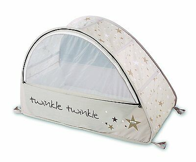 NEW Koo-Di Sun and Sleep Pop Up Bubble Travel Cot with Mosquito Net & Blackout