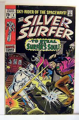 Silver Surfer (Vol 1) #   9 Fine (FN)  RS003 Marvel Comics SILVER AGE