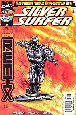 Silver Surfer: Loftier than Mortals (1999 Ltd) #   2 Near Mint (NM) MODN AGE