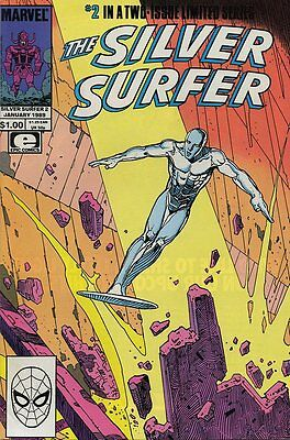 Silver Surfer (1988 Ltd) #   2 (NrMnt Minus-) (NM-) Marvel Comics AMERICAN