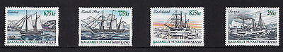 Greenland - 2003 Ships (2nd Series) - U/M - SG 438-41