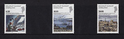Greenland - 2008 Science Anniversaries - U/M - SG 561-63