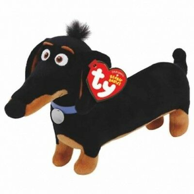 TY Secret Life Of Pets Buddy Dachshund Beanie Boo Genuine Ty Product NEW - UK