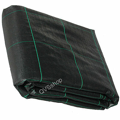 4M x 5M Heavy Duty Weed Control/Stop Fabric / Membrane - For Driveway/Path/Patio