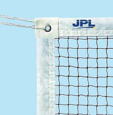 JPL Matchplay Game Superior Knotted Nylon Mesh Cloth Lining Badminton Net 19mm