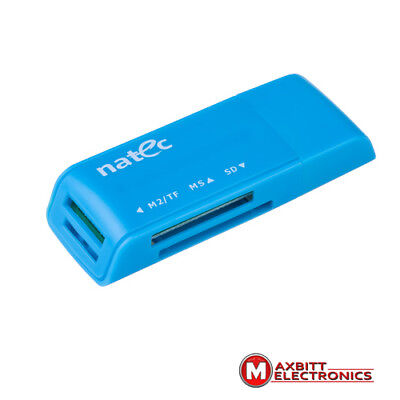 External Usb All In One Card Reader Sd Sdhc Mini Micro M2 Mmc Xd Cf Ms P /952