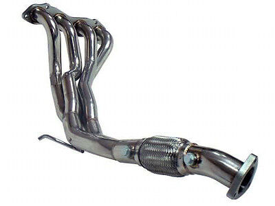 Honda Civic Ep3 Type R K20 Stainless Header Manifold Decat Downpipe 4-2-1 Z2189
