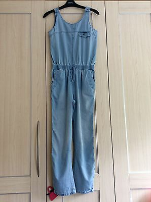 Girls Next Denim Jumpsuit Age 11 Years In Excellent Cond