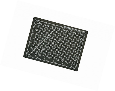 "Dahle 10670 Vantage Cutting Mat, 9"" x 12"", Black"