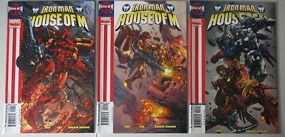 Iron Man - House of M #1-3 Complete (3 Comics) VF-NM