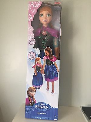 """Princess Anna Life Size Doll 38"""" Tall  My Size Huge 3 ft Disney Frozen. New"""