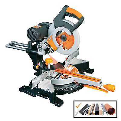 Evolution RAGE3-DB Multipurpose Double Bevel Sliding Mitre Saw 255mm 10 In 240V