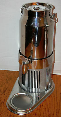 Frilich Stainless Steel Milk Dispenser Can Electric 12V DC Model Ocool-R