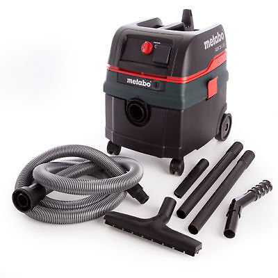 Metabo ASR25LSC All-Purpose Vacuum Cleaner 240V with Electromagnetic Shaking ...