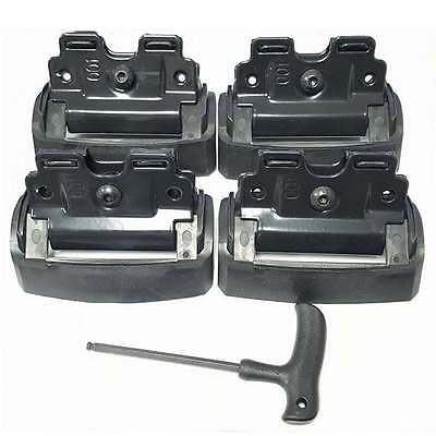 Thule roof bar fitting kit 4001 for Audi A6 Avant 2005-2010