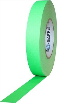 Pro Gaff Fluorescent Green Gaffers Tape 1 inch X 50  yards