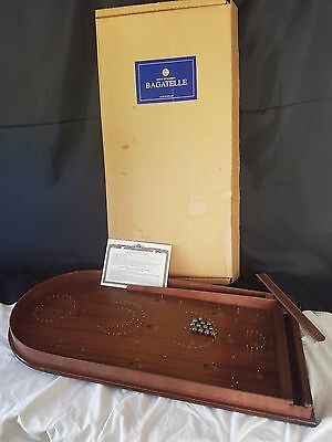Classic Bagatelle Retro Pub Board Pin Ball Game House of Marbles - New