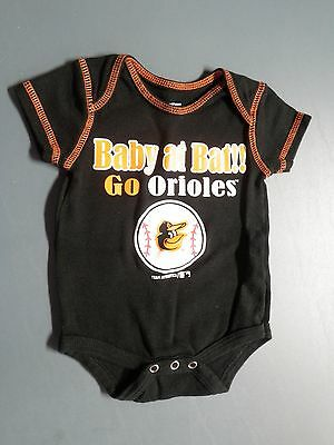 Baltimore Orioles Infant One Piece--Size 0-3 Months
