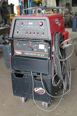 Lincoln Precision TIG 375 Welder K1093-1 with Cart!  excellent condition