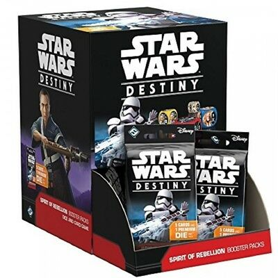 Star Wars Destiny: Spirit of Rebellion Booster Box (36 Packs) - Brand New!