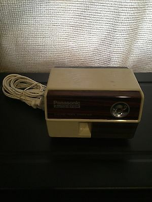Vintage Panasonic Auto-Stop Electric Pencil Sharpener KP-110 Tested Works Great!