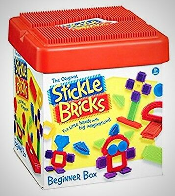 Stickle Bricks Beginner Box Game Play Fun Kids Children Constructor Development