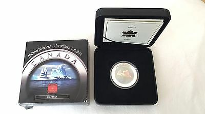 2004 Fine Silver Natural Wonders $20 Icebergs Hologram Coin