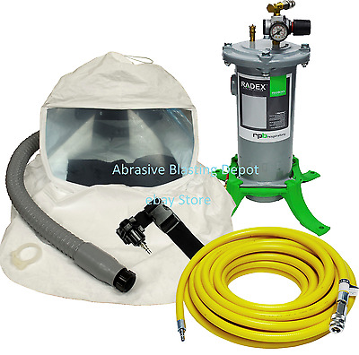 Complete Lightweight Respirator System For Spray Painting & Coating Application