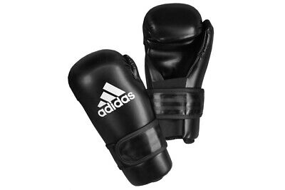 Adidas Pro Semi Contact Gloves ITF Taekwondo WAKO Kickboxing Mitts Martial Arts