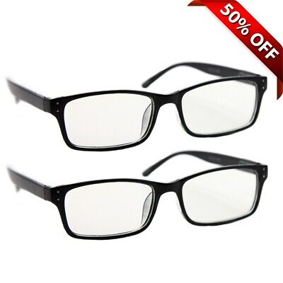 NEW Computer Reading Glasses | Gaming | 2 Pack | Anti Blue Light & UV Protection