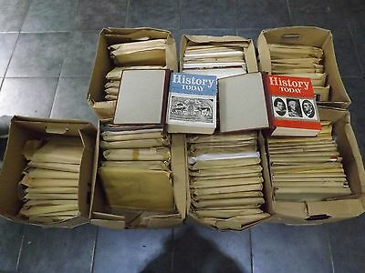 Extremely rare History Today Magazines: 1951 - 1991 inc. Indexes