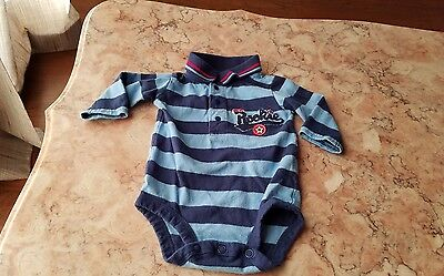 Carter's 3 months 1 piece long sleeve baby boy clothes