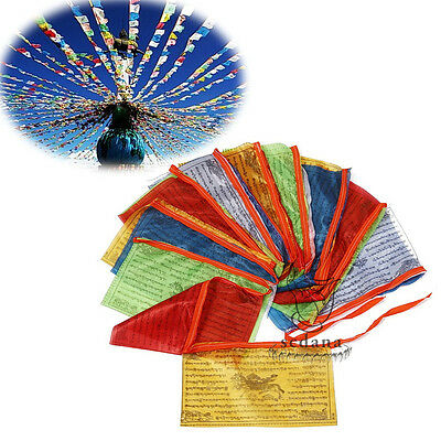 Tibetan Buddhist Prayer Flag 204 Inch Long Buddhism LongDa Auspicious Scriptures
