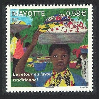 Mayotte The return of the traditional laundry 1v MI#249