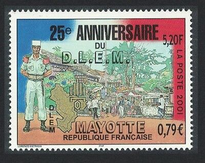 Mayotte 25th Anniversary of Mayotte Foreign Legion Detachment 1v SG#135
