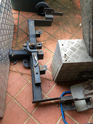 Tow Bar Heavy Duty Bf Suite Ute Alloy Tray