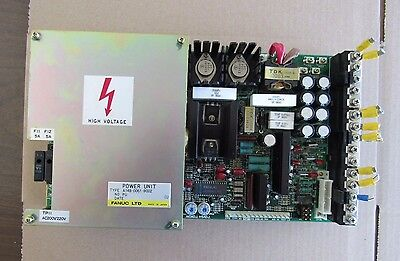Fanuc Power Unit A14B-0061-B002,  Cnc Board  A20B-1000-0030/06A, Free Shipping