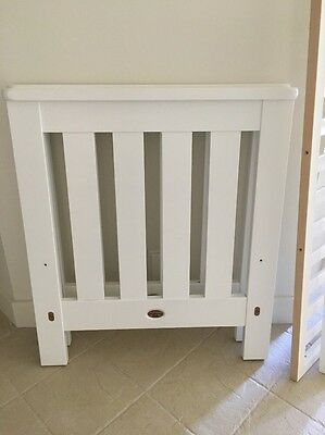 Boori Country Collection White Cot,Mattress,Cot Linen