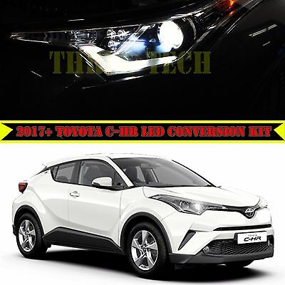 Three-Tech 2016-2017 Toyota C-HR LED Headlight Conversion Kit 3800Lms 36W