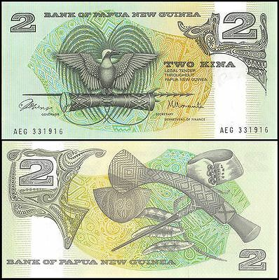 Papua New Guinea 2 Kina Banknote, 1981, P-5a, UNC
