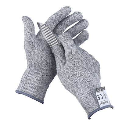 Muti-Size Cut Resistant Knife Gloves Proof Search Work Protective Safety Level 5