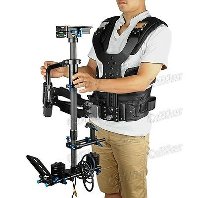2.5-15kg Load Pro Camera Steadicam Video Carbon Stabilizer + Low-shooting