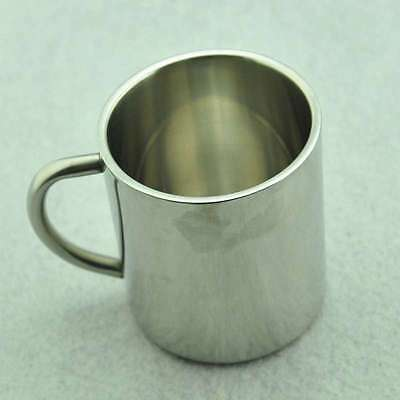 300ML Double Wall Stainless Steel Coffee Mugs Travel Tumbler Tea Cups